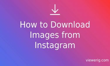 How to Download Images from Instagram?
